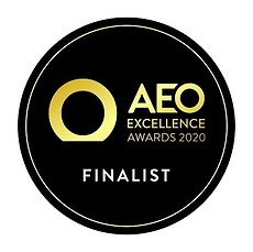 AEO Excellence Awards 2020 logo