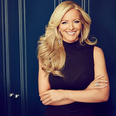 Photograph of Michelle Mone